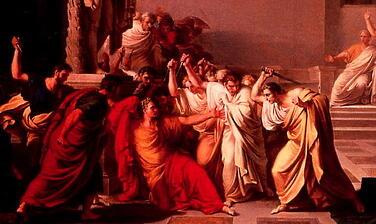 Julius Ceaser and Brutus